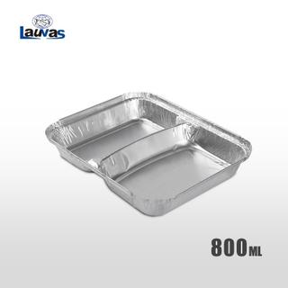 多格彎2格款鋁箔餐盒 800ml