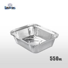 矩形165款铝箔餐盒 550ml