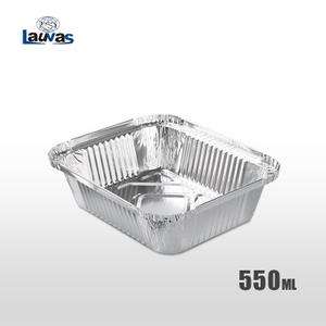 矩形165款鋁箔餐盒 550ml