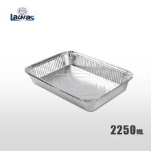 矩形315款铝箔餐盒 2250ml