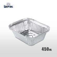 矩形150款铝箔餐盒 450ml