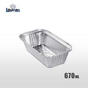 矩形205款鋁箔餐盒 670ml