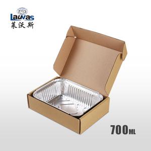 矩形185鋁箔套盒 700ml