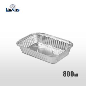 矩形211款鋁箔餐盒 800ml